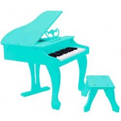 Mini Piano Elegante para Criança Branco