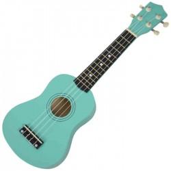Ukulele soprano Verde c/Saco