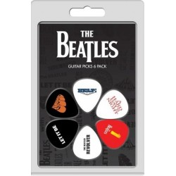 Conjunto 6 palhetas The Beatles