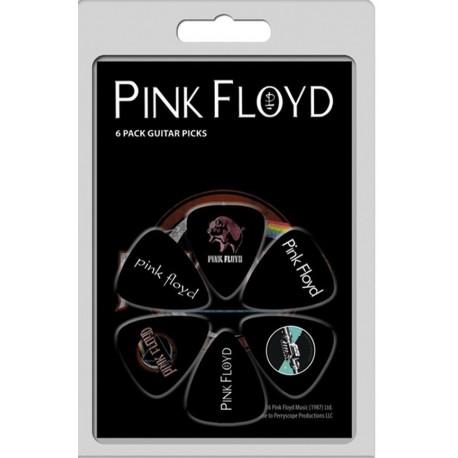 Conjunto 6 palhetas Pink Floyd